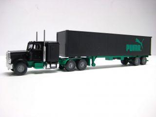 Wiking 527 10 PUMA US Peterbilt 40 ft Container SZG