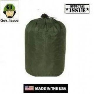 US Army Military Schlafsack Mumienform Sleeping bag od green oliv