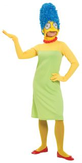 Die Simpsons Marge Simpson Kostüm Adult Fancy Dress Medium UK 12 14