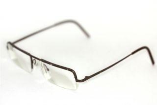 GÖTTI+NIEDERER Petra 100% Titanium Brille metallisch Braun glasses