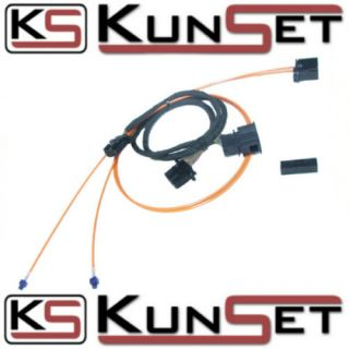 Kabelsatz AMI MMI Audi A8 4E A6 4F A5 Q7 Q5 inkl. LWL