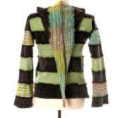 Zipfelkapuze Goa Pullover Sweater Longsleeve Psy Hippie Hoodie Hoody