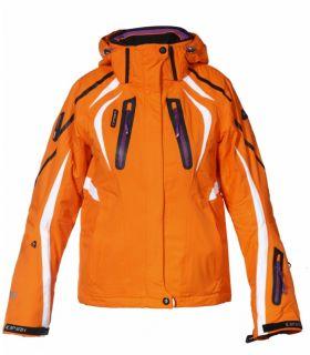 ICEPEAK Damen Skijacke Snowboardjacke MELISA Neon Orange Lila 5.000 WS