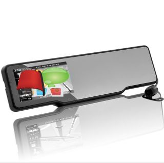 Car Bluetooth Rearview Mirror Kit GPS, Dashcam, Parking Camera, Speed