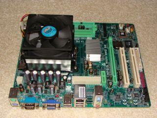 Biostar NF61S Micro AM2 SE,AMD Sempron 3400+,100% OK