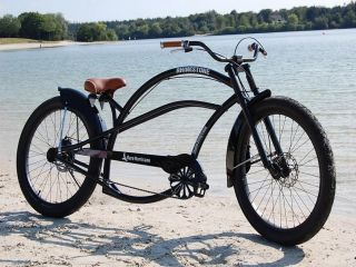 TRAUM Chopper BEACHCRUISER XXL Custom Bike NEU