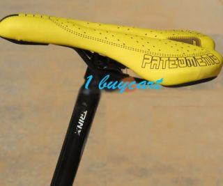 NEW Cycling Mountain Bike Bicycle PRO ROAD SADDLE Soft Comfort Yellow