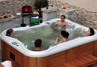 Outdoor Whirlpool, Aussenwhirlpool, Spa, Hot Tub Nr.568
