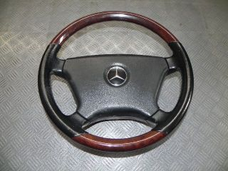 Mercedes w126 Coupe 560 SEC Leder Lenkrad Wurzel 39 cm
