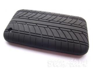 Designer Tyre Rubber Bumper Case Skin for iPhone 3G 3GS
