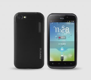 MF Skin Cover Case + LCD Guard Alcatel One Touch OT 995 Ultra OT 995