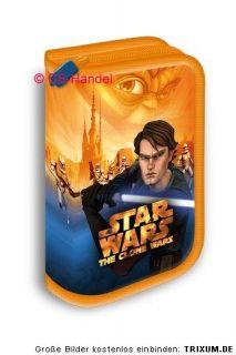 Star Wars Clone Wars Anakin Federtasche Federmappe Etui