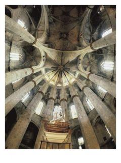 Church of Santa María Del Mar Giclee Print by Ramon Despuig