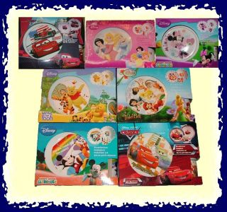 Geschirr Set Disney CARS Tinkerbell Pooh Princess NEU