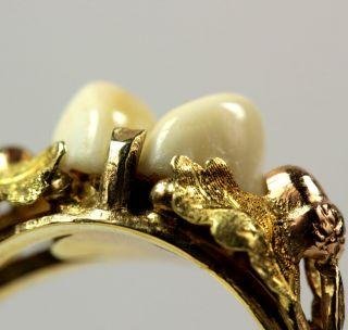 Goldring echt Gold 585 Grandelring Rw ca 56 aus Juweliersnachlaß 4,8