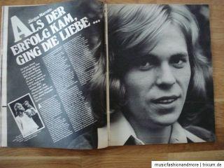 BRAVO ~ HEFT NR. 38 / 1972 ~ Paul McCartney ; Tony Curtis ;Vicky