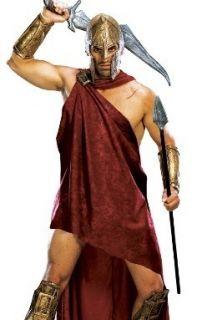 Mens Greek Roman Halloween 300 Movie Spartan Costume