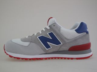 574 CVY white/red/blue Gr. 45,5 us 11,5 Neu Schuhe 576 577 1500