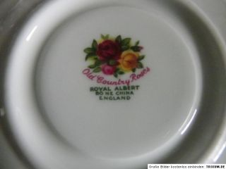 ROYAL ALBERT OLD COUNTRY ROSES PORZELLAN KAFFEEGEDECK BONE CHINA
