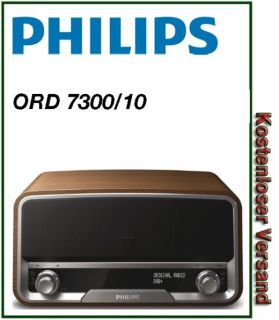 PHILIPS ORD 7300/10 # Design Radio, Stereo, DAB, DAB+ UKW, iPod