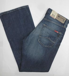 Mustang Jeans Bootcut 3173.5175.582 extra lang dark scratched used