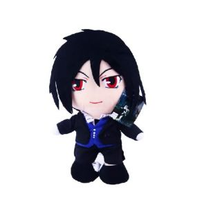Kuroshitsuji Black Butler Plüsch Figur Set H30cm 001