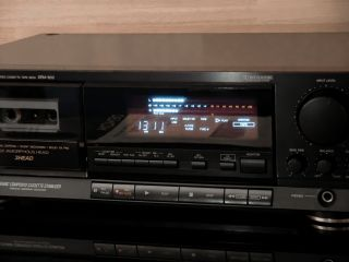 DENON DRM 800 – Stereo Cassette Tape Deck, TOP Zustand