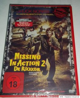 Missing in Action II   Die Rückkehr   Chuck Norris   UNCUT   DVD