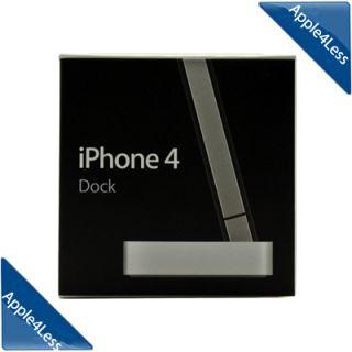 GENUINE Apple iPhone 4 Dock Sync Station MC596ZM/A Open Box Return