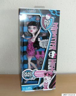 Monster High Puppen Dead Tired (Todmüde) Serie   Jede Puppe Neu und