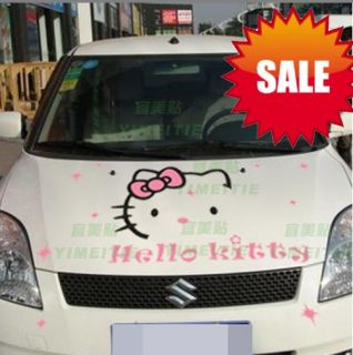 Hello Kitty Auto Tattoo Aufkleber Sticker 41 x 52 cm 35