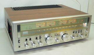8000 Vintage Pure Power DC Stereo Receiver Monsterreceiver *RAR* (605