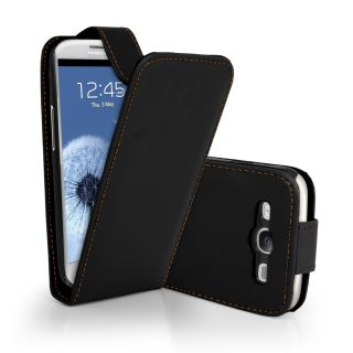 Flip Leather Case Cover II For Samsung I9300 Galaxy S3 III + Screen