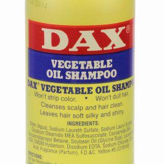 DAX Vegetable Oil Shampoo zum auswaschen von Pomaden