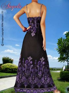 NEU Abend / Sommer Sexy Women Abend lang Maxi Dress Größe M   XXXL