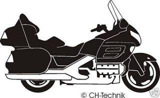 Aufkleber Motorrad Honda Gold Wing