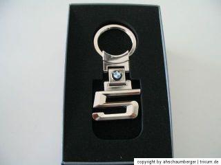 Original Schlüsselanhänger BMW 5er mit Logo  NEU