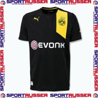 Puma BVB Away Kinder Trikot 2012/2013 black/yellow