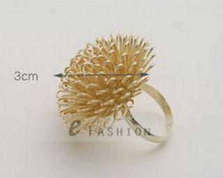 Ring Löwenzahn Style Ringe Blume Damen Fingerring NEU 102 0180