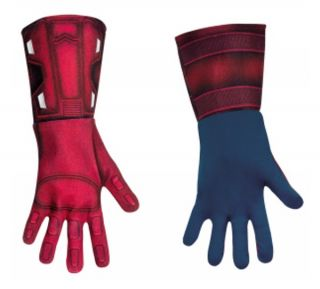 MARVEL AVENGERS CAPTAIN AMERICA DELUXE GLOVES ADULT ONE SIZE LICENSED