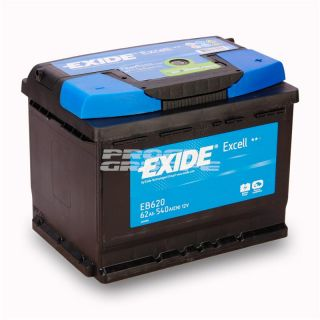EXIDE EXCELL / 62Ah / Autobatterie / Starterbatterie / Batterie