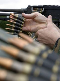 More Than 3,000 Rounds were Fired from M 240G Medium Machine Guns