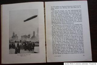 Die Amerikafahrt des Graf Zeppelin. Herausgegeben von Rolf Brand