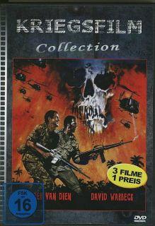 Asien   Kriegsfilme   3 Filme / Casper van Dien / DVD
