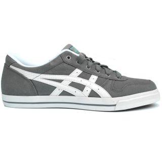 Asics Aaron LE Grau Damen Herren Schuhe Sneaker