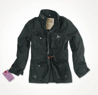 SURPLUS Ladies M65 Damen Jacke Sommerjacke Jacket schwarz gewaschen