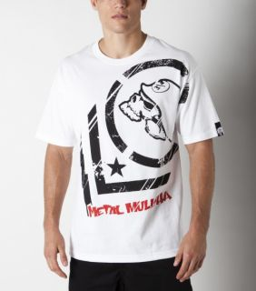 Metal Mulisha Punctured Tee T Shirt weiß white wht Gr. s m l xl xxl