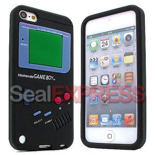 Silikon Retro Game Boy Case Weiß APPLE IPOD TOUCH 5 5G Tasche Schutz