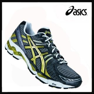 Asics Gel Kayano 17 Herren black/gold/white