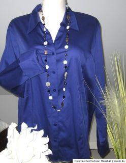 GERRY WEBER Edition_langarm Bluse i. Hemdstyle_NEU_48_Königsblau